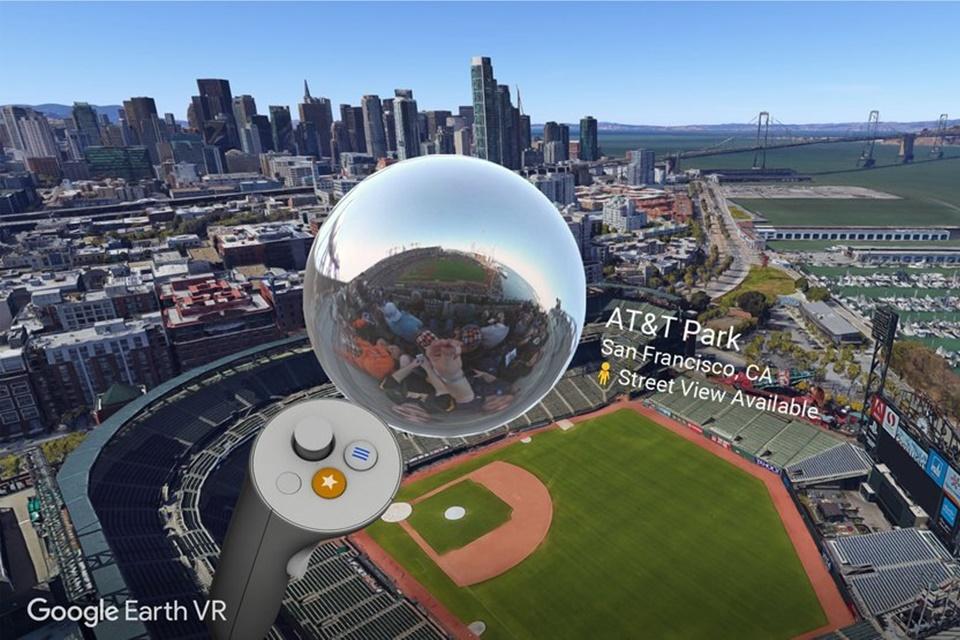 Imagem de Google Earth VR ganha suporte para o Street View no tecmundo
