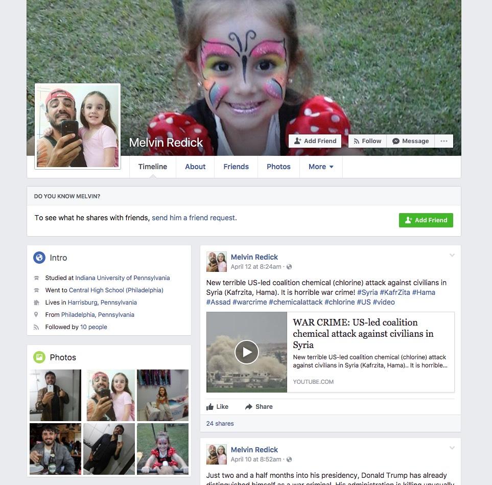 perfil fake no facebook