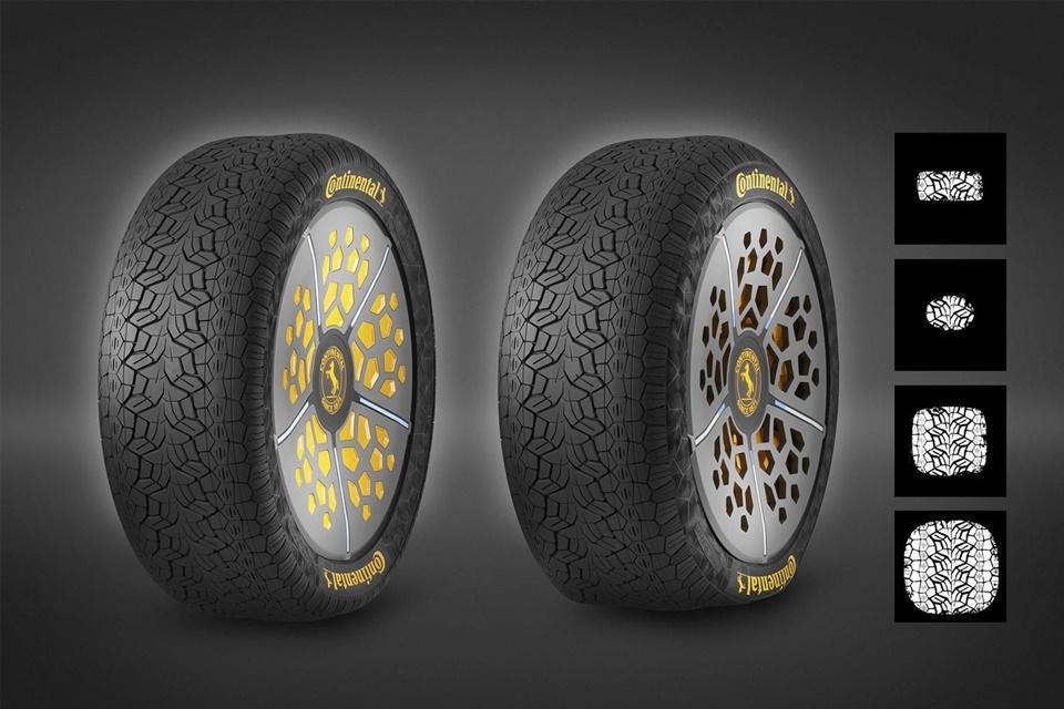 Imagem de Continental cria pneu inteligente que se adapta às condições do terreno no tecmundo