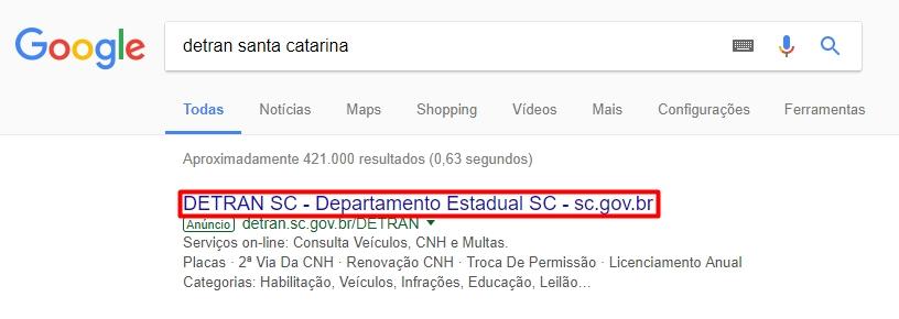 captura do google