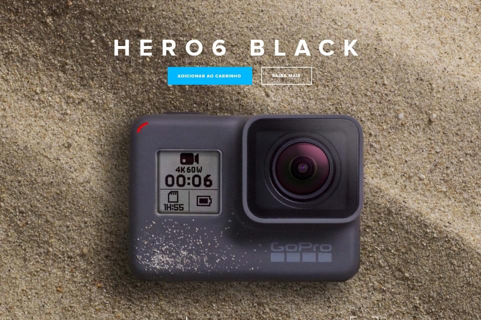 Imagem de GoPro revela nova Hero6 Black com gravação 4K; saiba mais no tecmundo