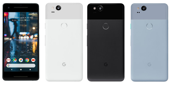 Sem segredos: novo Google Pixel 2 e Google Pixel XL 2