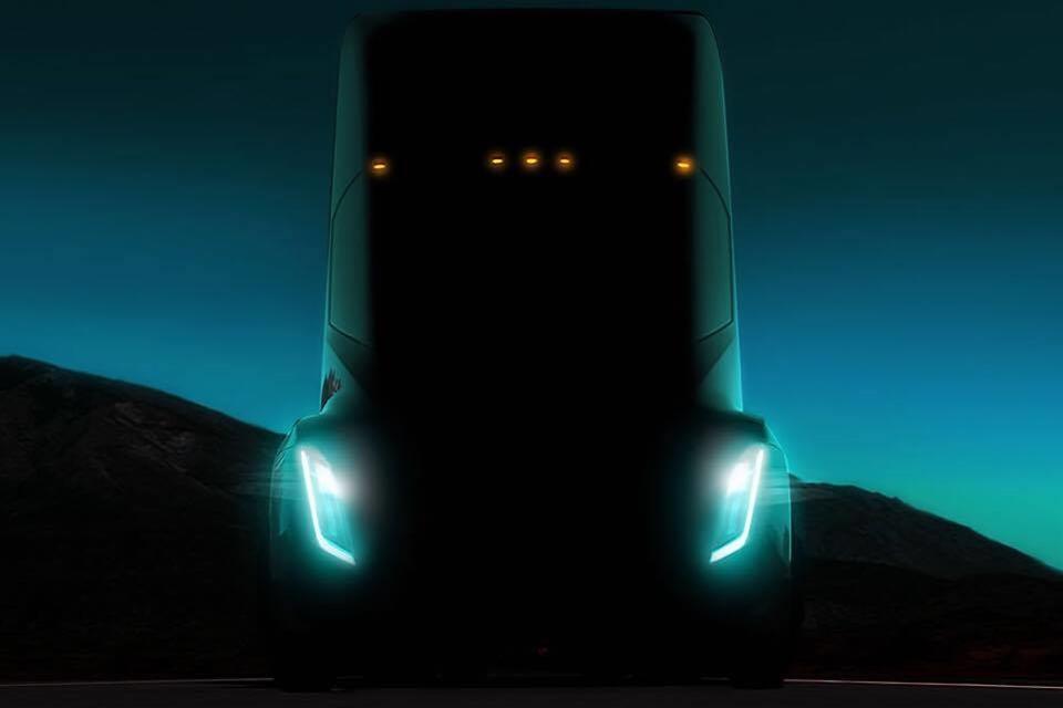 Imagem de Imagem que pode ser da nova carreta elétrica da Tesla é revelada no tecmundo