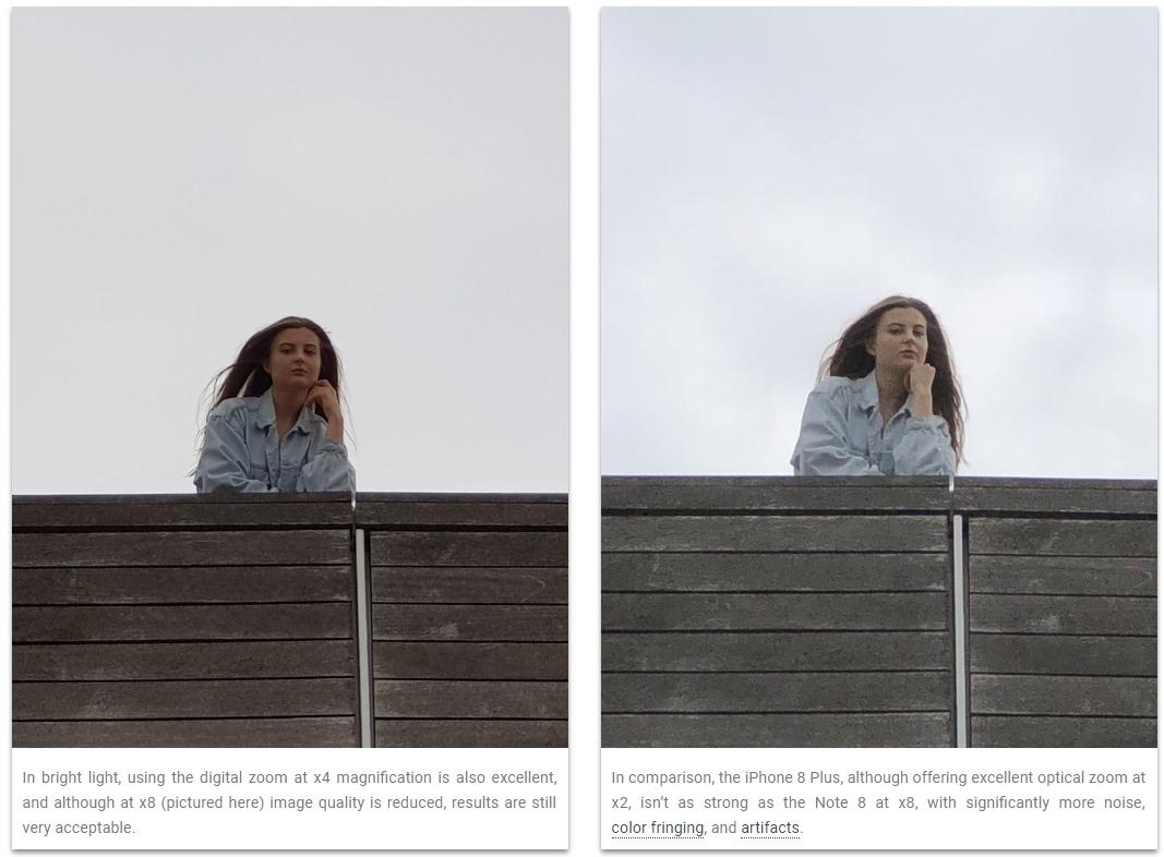 comparação de fotos