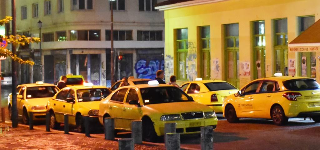 táxi taxistas grécia