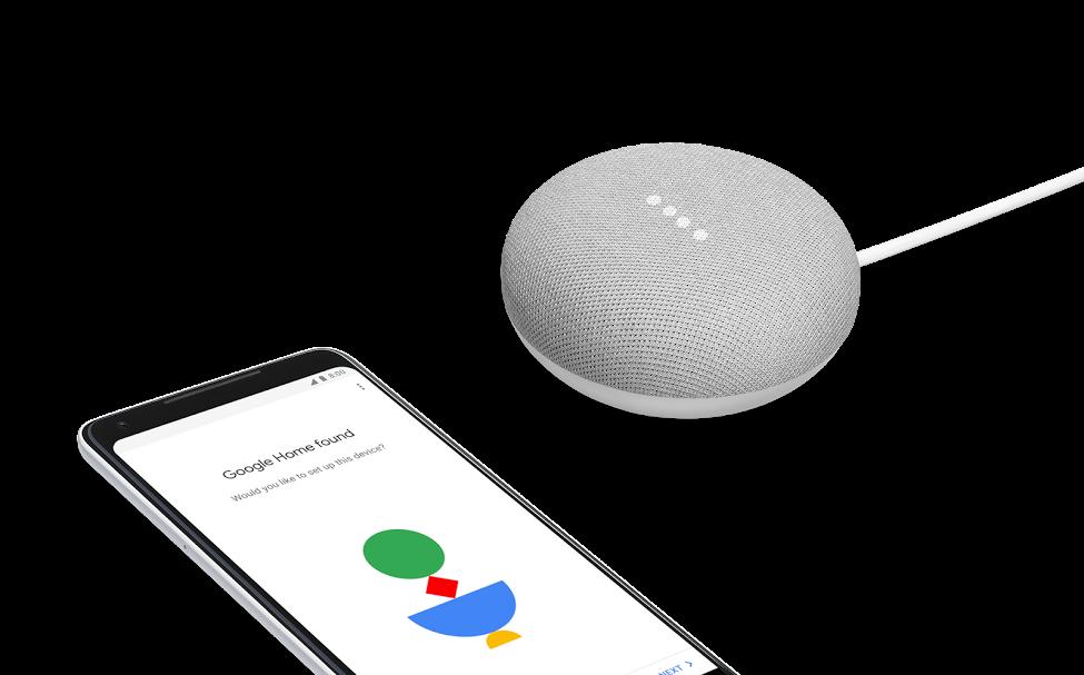 Google Home Mini e Pixel 2