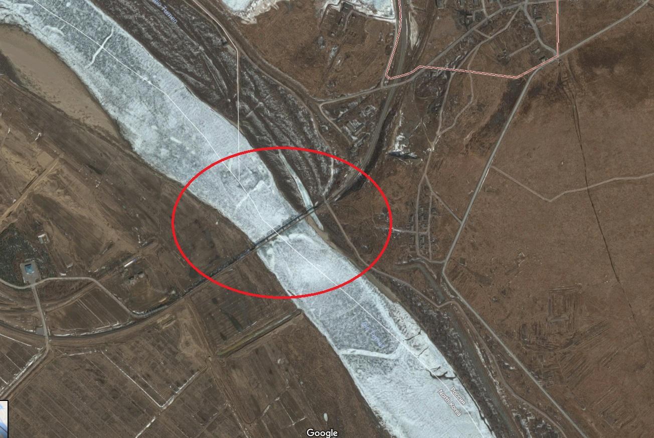 ponte russia coreia