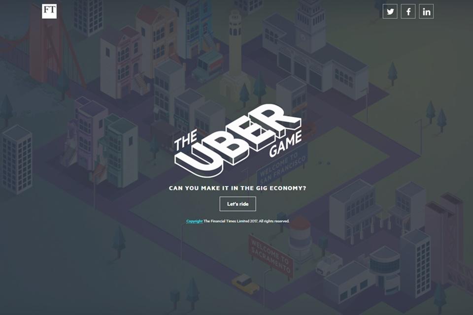 Imagem de The Uber Game coloca você na pele do motorista e simula perrengues no tecmundo