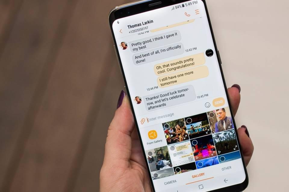Imagem de Usuários do Galaxy S8 reportam o sumiço de mensagens de texto no aparelho  no tecmundo