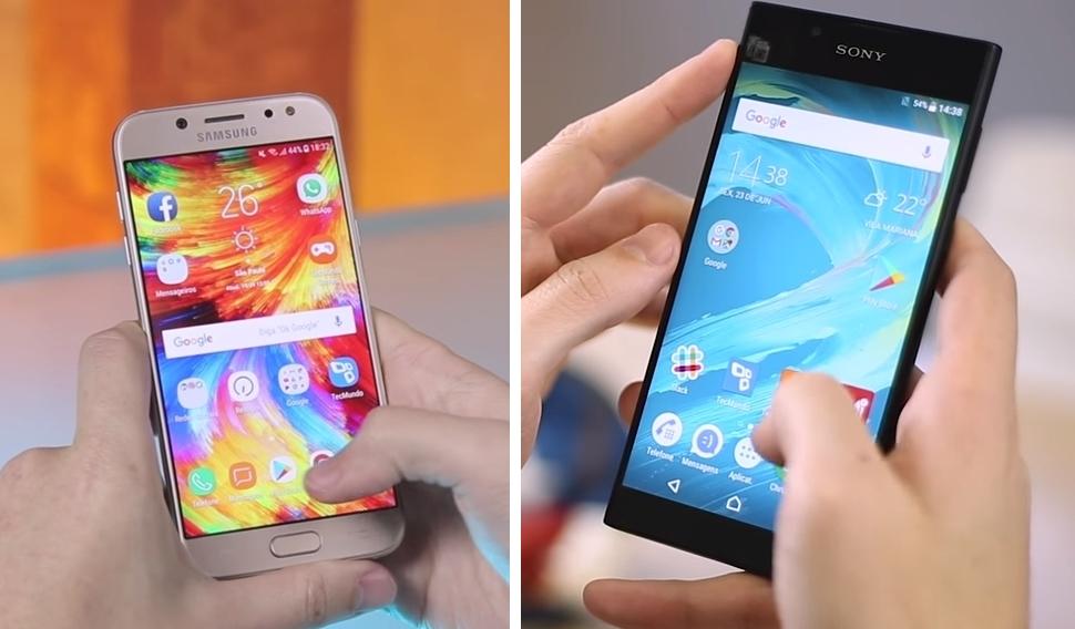 Galaxy J5 Pro vs. Xperia L1