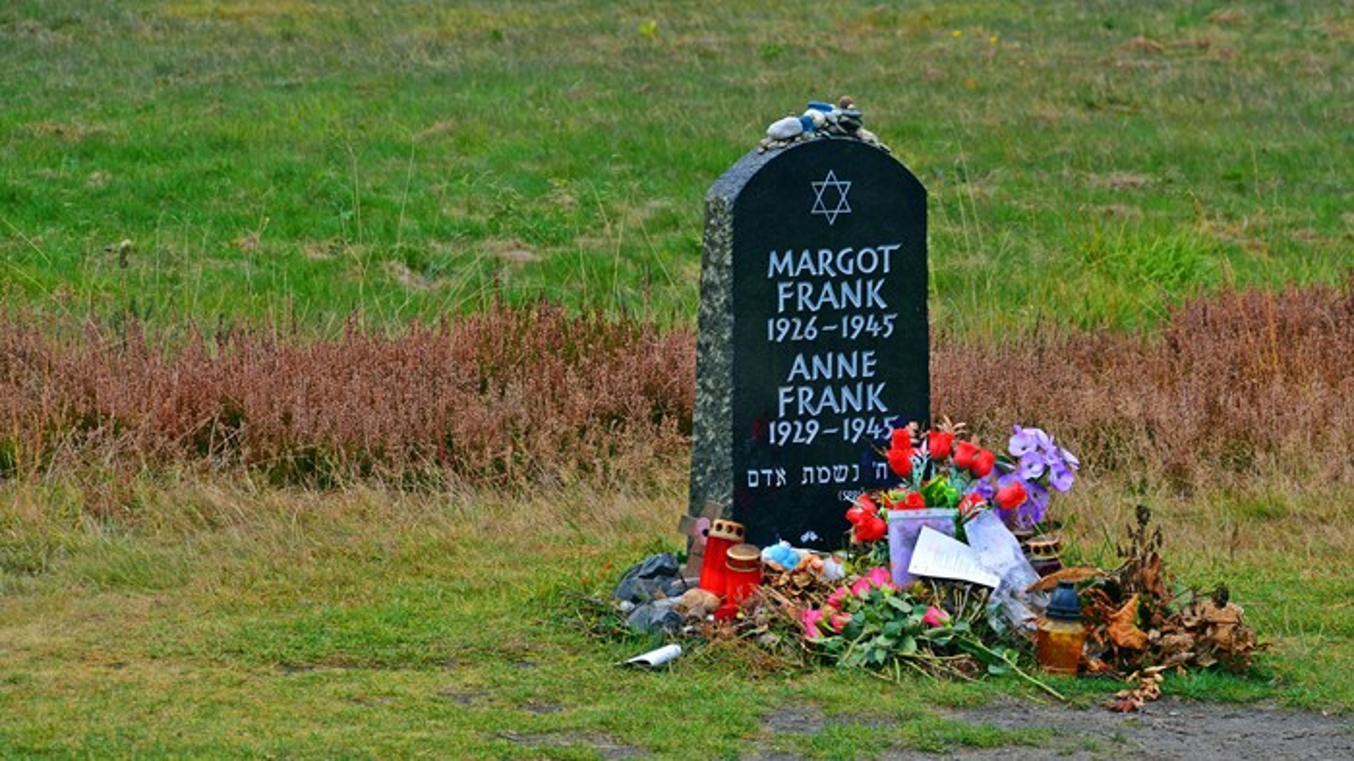 Memorial a Anne e Margot Frank