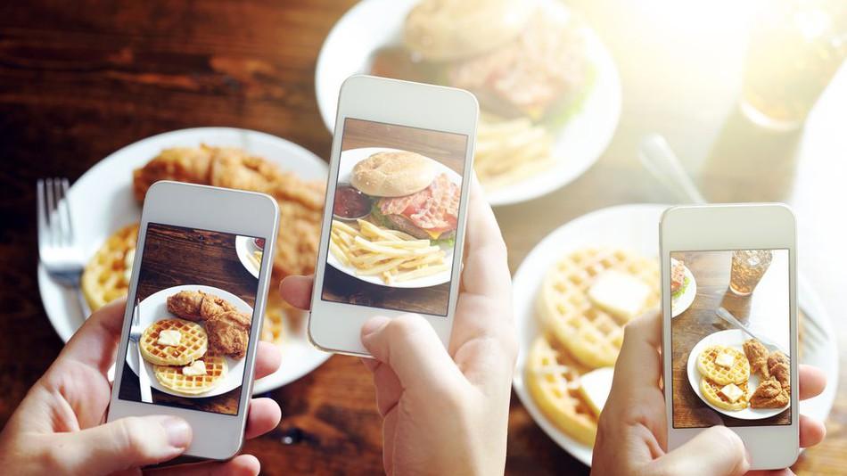 foto instagram comida