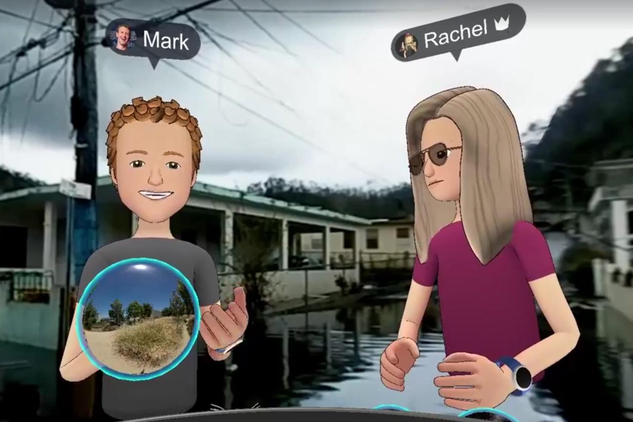 Imagem de Tour virtual de Zuckerberg por uma Porto Rico devastada é alvo de críticas no tecmundo