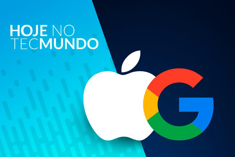 Imagem de Erro noticia a compra da Apple pela Google - Hoje no TecMundo no tecmundo