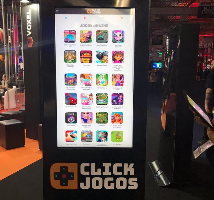 Totem do Click Jogos
