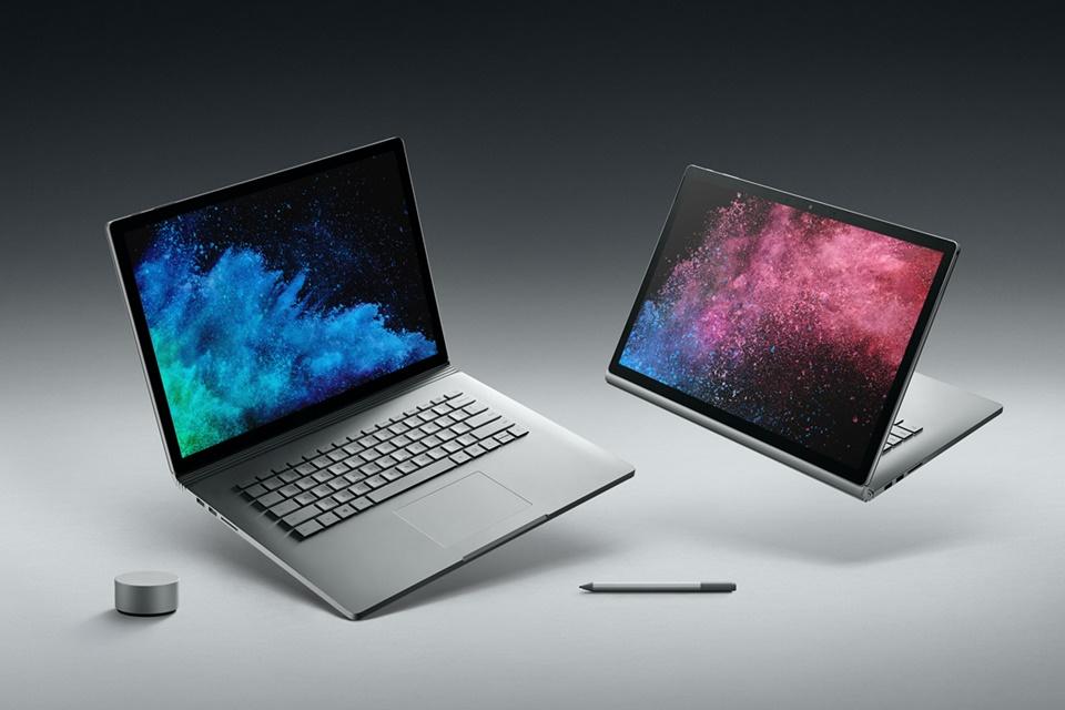 Imagem de Microsoft lança Surface Book 2 com mais potência e opção com tela de 15'' no tecmundo