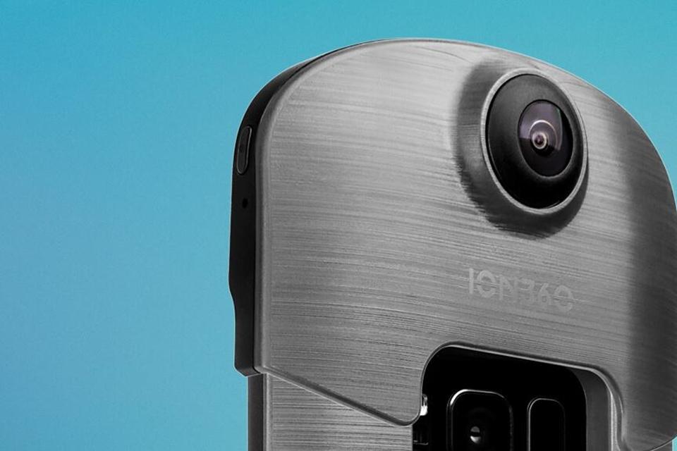 Imagem de ION360: mistura de case com bateria e câmera grava vídeos 4K em 360° no tecmundo