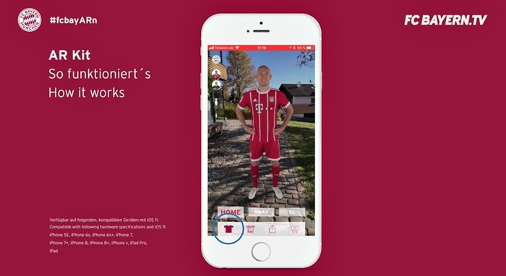 Bayern Munich app