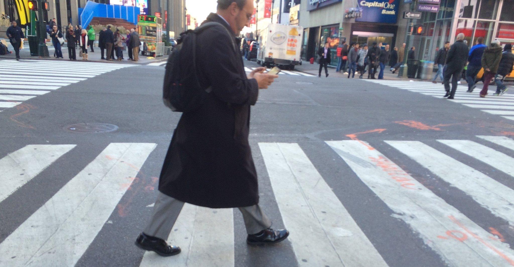 atravessando a rua