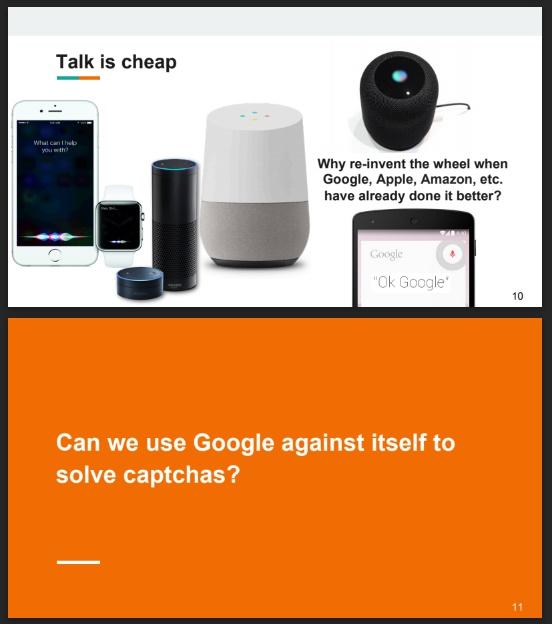 unCAPTCHA reCAPTCHA Google