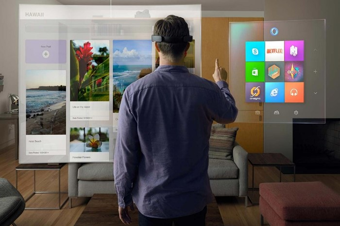 O Mixed Reality da Microsoft.