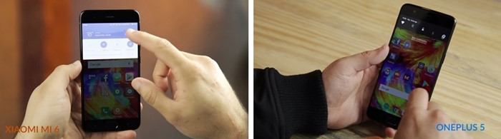 Xiaomi Mi 6 vs. OnePlus 5