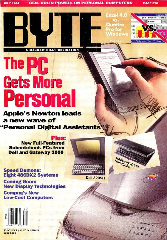 Byte Apple Newton