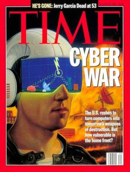 Time Magazine Ciberguerra