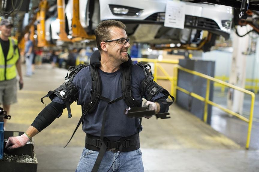 Exoesqueleto Ford