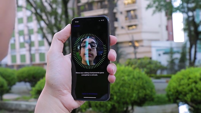 Face ID no iPhone X
