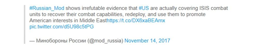 Rússia Estados Unidos ISIS