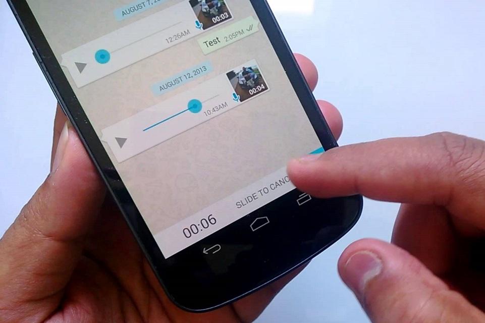 Imagem de WhatsApp vai tirar botão para gravar áudio e trocar por algo melhor no tecmundo