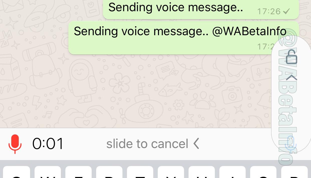 WhatsApp está testando nova forma de enviar aúdios