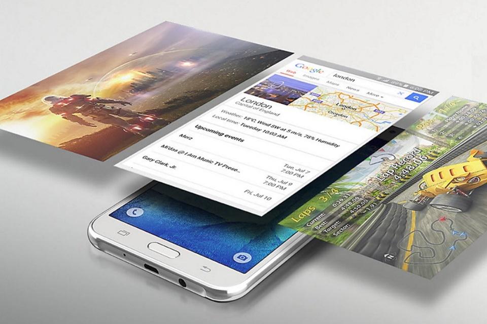 Imagem de Samsung Galaxy J2 Pro (2018) e Galaxy J5 Prime (2017) aparecem em benchmark no tecmundo