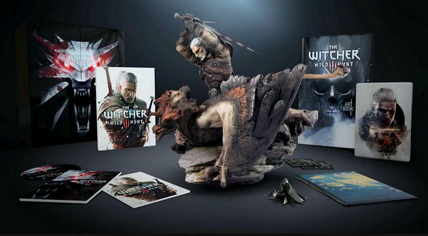 Edição especial The Witcher 3