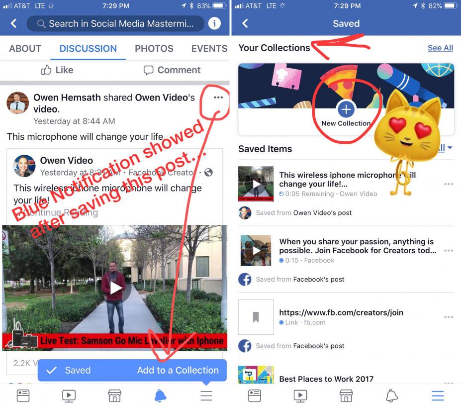 coelções facebook
