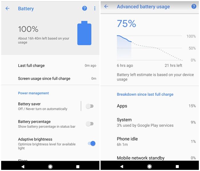 pixel bateria google