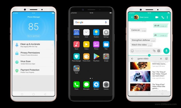 Oppo lana f5 youth apostando em bom hardware e preo baixo tecmundo celular oppo stopboris Image collections