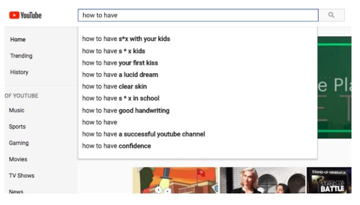 YouTube busca pedofilia