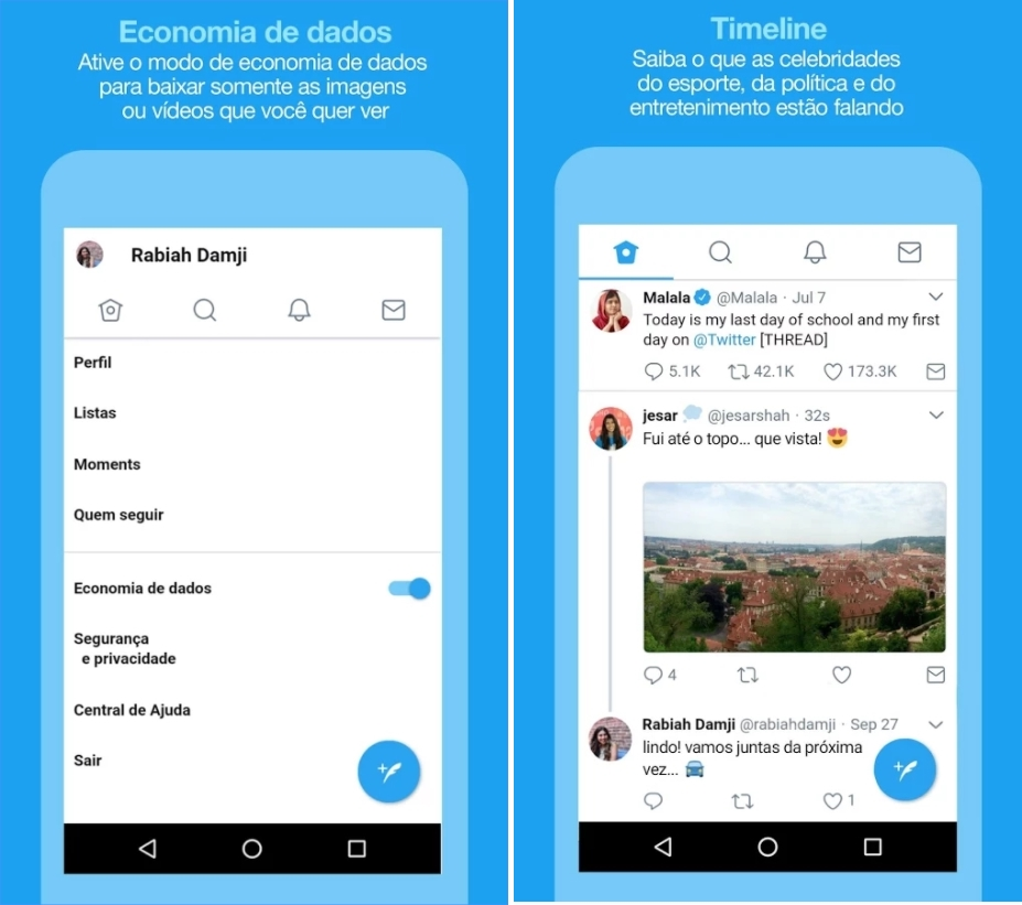 Twitter Lite é lançado em mais 24 países