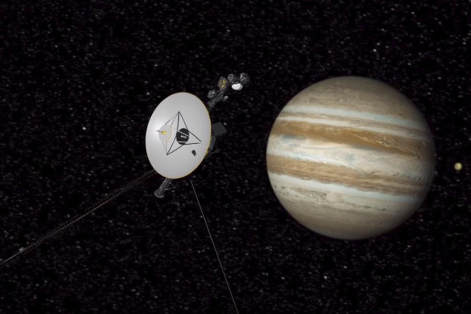 Imagem de Voyager 1 usa os propulsores reserva com perfeição depois de 37 anos no tecmundo
