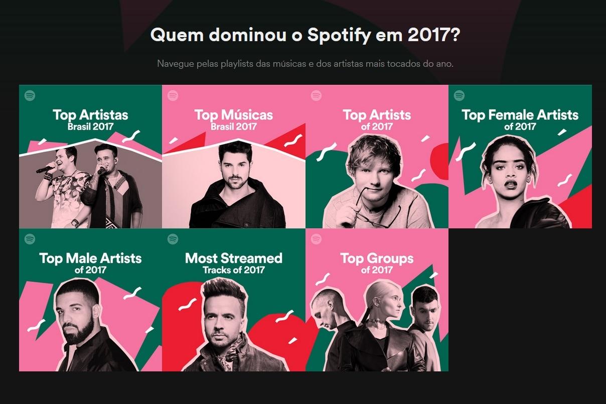 Imagem de Spotify revela os artistas, os álbuns e as músicas mais populares de 2017 no tecmundo