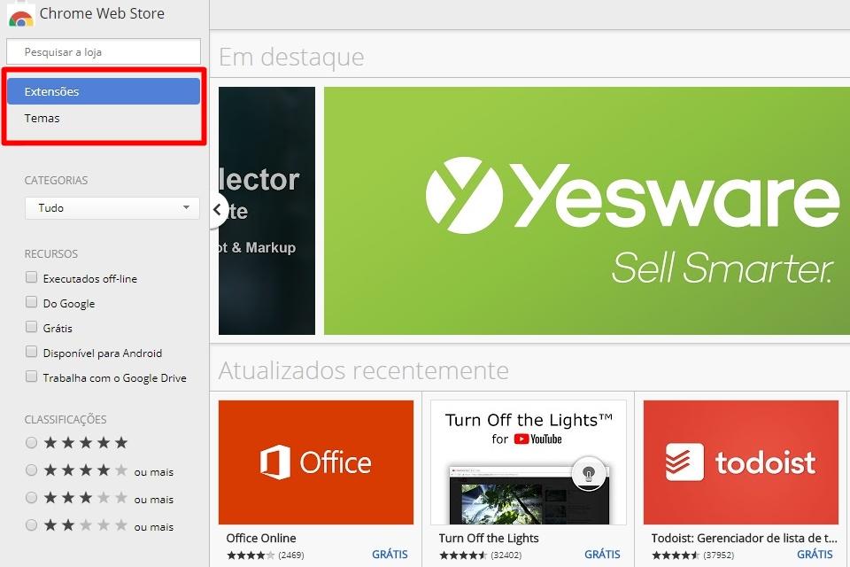 Google fecha loja de aplicativos do Chrome