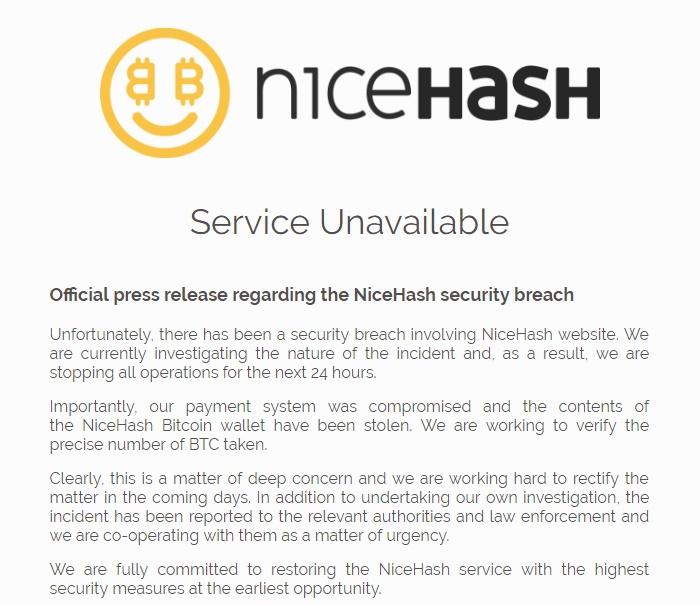 nicehash bitcoin criptomoeda