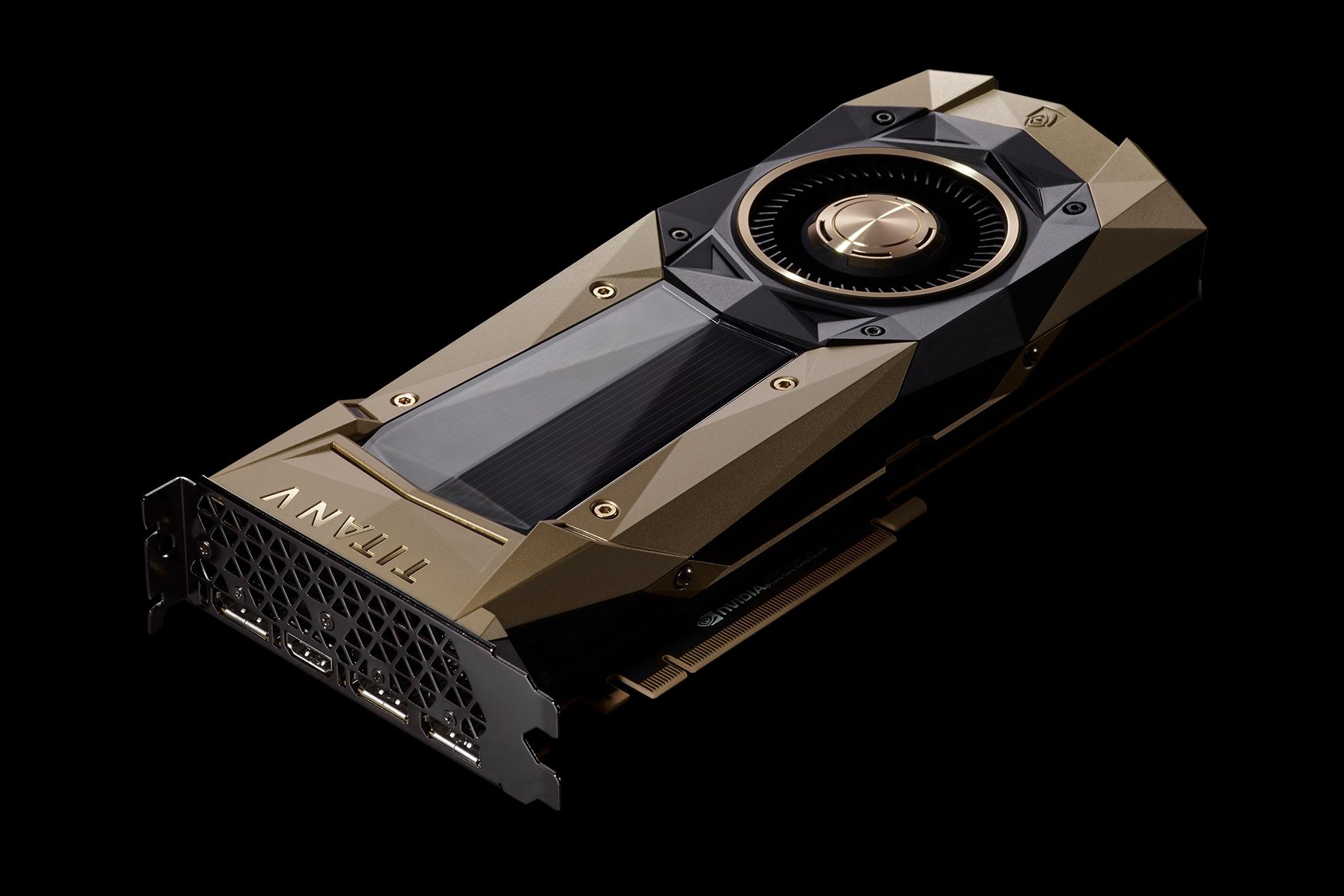 Imagem de NVIDIA anuncia a TITAN V, a placa de vídeo dedicada à IA no tecmundo
