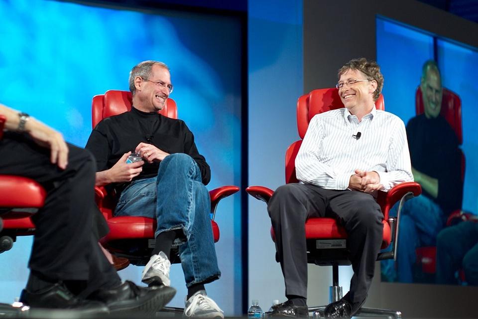 Imagem de Bill Gates e Steve Jobs: 10 anos depois, quem substituiria os dois gênios? no tecmundo