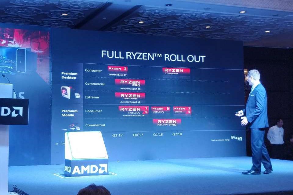 Imagem de Quase aqui: AMD confirma segunda geração do Ryzen para o começo de 2018 no tecmundo