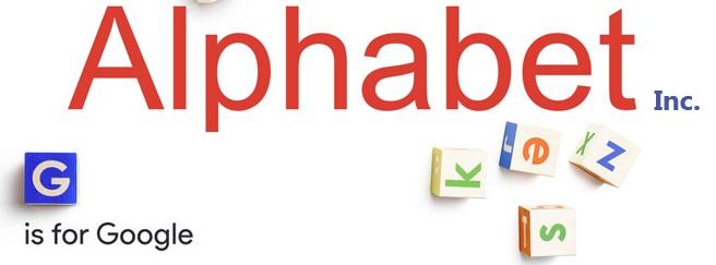 A logo da Alphabet.