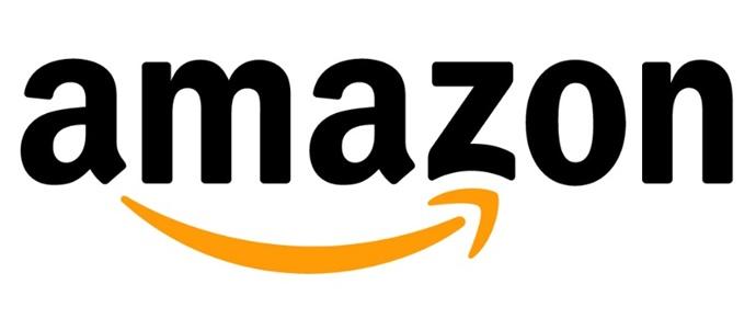 A logo da Amazon.