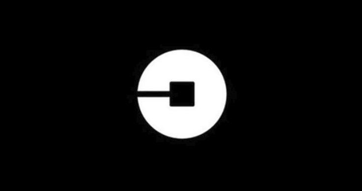 A logo da Uber.